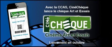 La CCAS avec CinéChèque lance une version Art et Essais de son ciné chèque en e-billet !