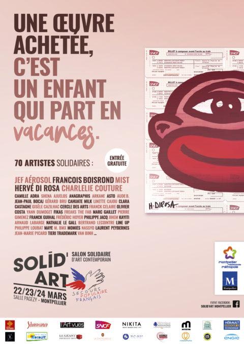 Solid'Art les 22, 23 et 24 mars à Montpellier