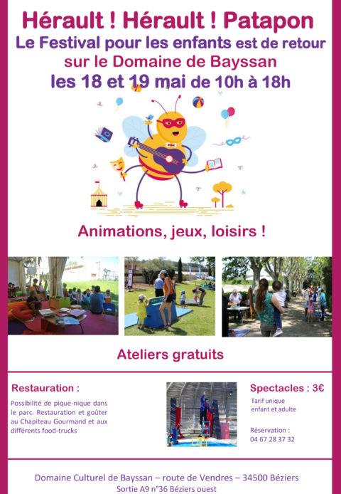 Festival pour les enfants – Domaine de BESSAN