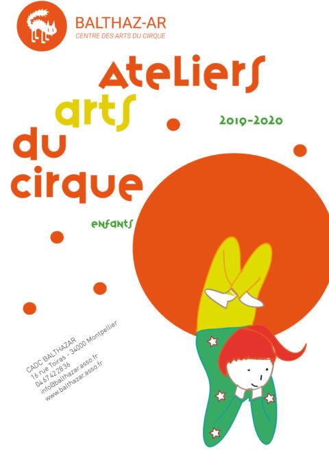 Vacances d'été – Atelier Art du cirque BALTHAZ'AR