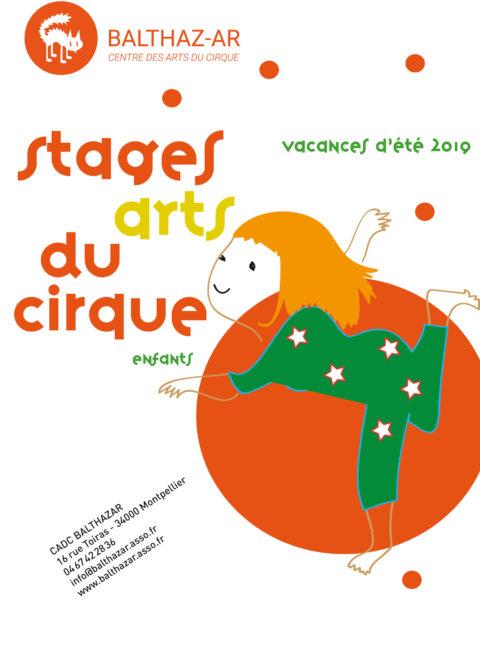 Vacances d'été – Stage Art du cirque BALTHAZ'AR
