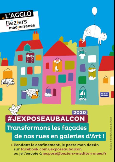 #JEXPOSEAUBALCON